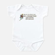 God Created Caucasians Infant Bodysuit