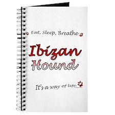 Ibizan Hound Breathe Journal