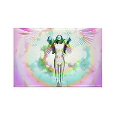 Body Of Light Rectangle Magnet (10 pack)