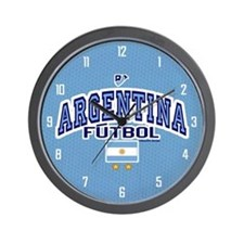 Argentina Futbol/Soccer Wall Clock