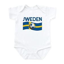 TEAM SWEDEN WORLD CUP Infant Bodysuit