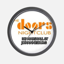 Doors Nightclub Wall Clock