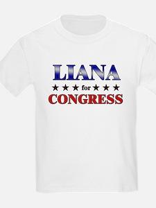LIANA for congress T-Shirt