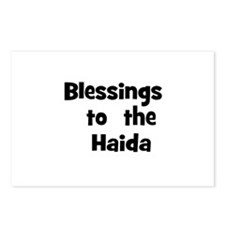 Blessings  to  the  Haida  Postcards (Package of 8