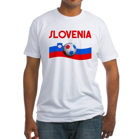 TEAM SLOVENIA WORLD CUP Fitted T-Shirt