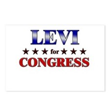 LEVI for congress Postcards (Package of 8)