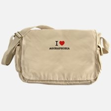 I Love AGORAPHOBIA Messenger Bag