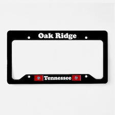 Oak Ridge TN - LPF License Plate Holder