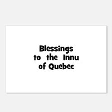 Blessings  to  the  Innu of Q Postcards (Package o