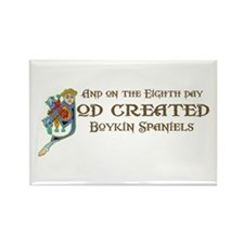 God Created Boykins Rectangle Magnet (100 pack)