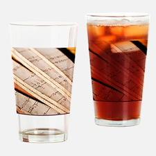 Metric Ruler Drinking Glass