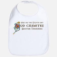 God Created Terriers Bib