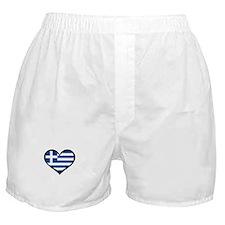 Greece Love Greek Boxer Shorts