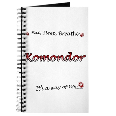 Komondor Breathe Journal