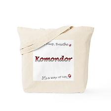 Komondor Breathe Tote Bag