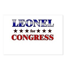 LEONEL for congress Postcards (Package of 8)