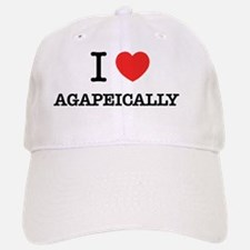I Love AGAPEICALLY Baseball Baseball Cap