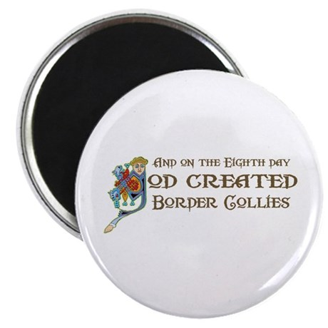 God Created Collies Magnet
