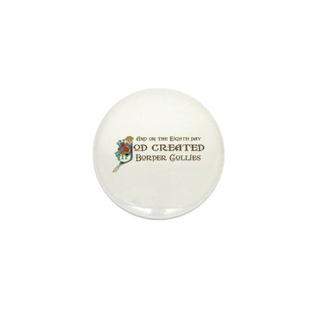 God Created Collies Mini Button (100 pack)