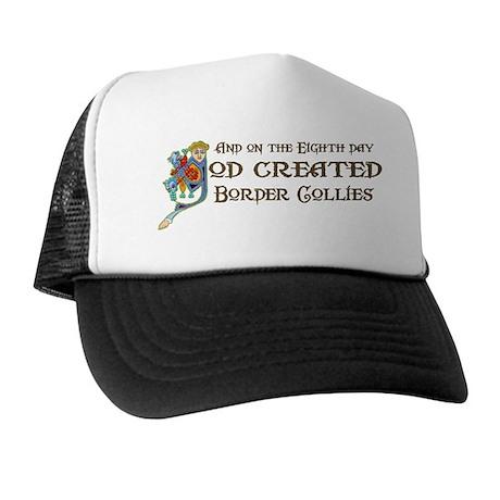 God Created Collies Trucker Hat
