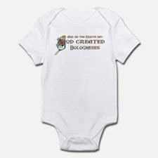 God Created Bologneses Infant Bodysuit