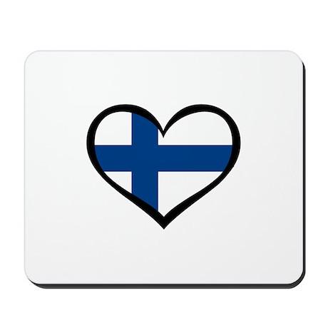 Finland Love Mousepad