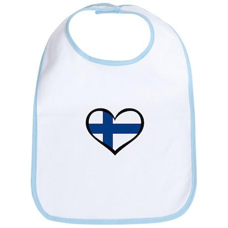 Finland Love Bib