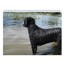 Portuguese Water Dog Wall Calendar