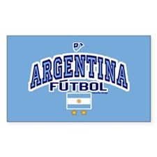 Argentina Futbol/Soccer Bumper Stickers