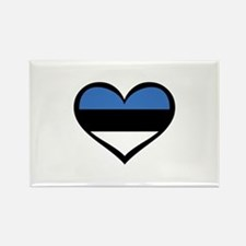 Estonia Love Rectangle Magnet