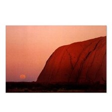 Ayers Rock  Postcards (Package of 8)