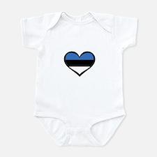 Estonia Love Infant Bodysuit