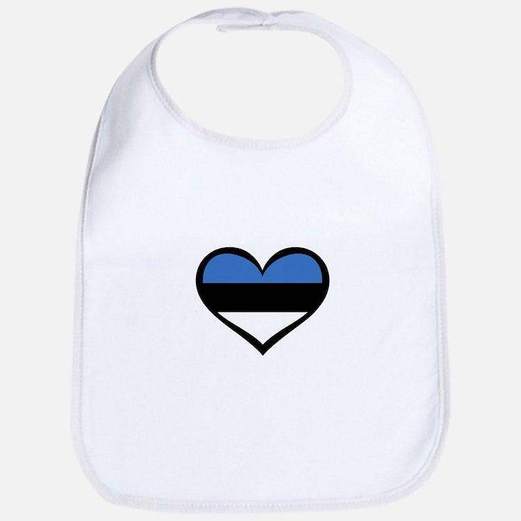 Estonia Love Bib