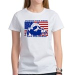 Punish the Deed, Not the Breed. Women's T-Shirt