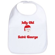 Jolly Old Saint George Bib