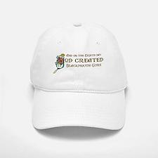 God Created Blackmouth Curs Baseball Baseball Cap