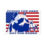 Punish the Deed, Not the Breed. Mini Poster Print