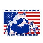 Punish the Deed, Not the Breed. Postcards (Package