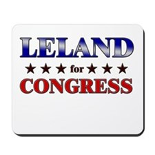 LELAND for congress Mousepad