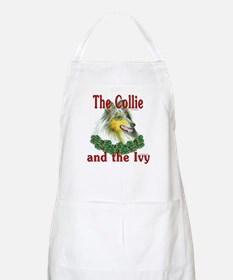 Blue Merle Collie & Ivy BBQ Apron