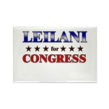 LEILANI for congress Rectangle Magnet