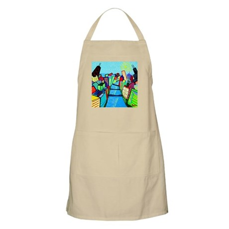 BBQ Apron<BR>Chicago River View