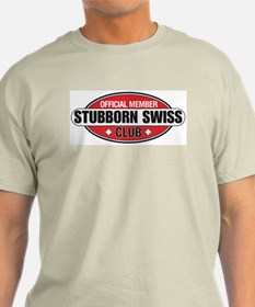 Stubborn Swiss Club T-Shirt