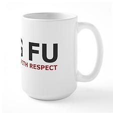 Kung Fu Quote Mug