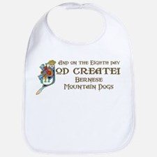 God Created Berneses Bib