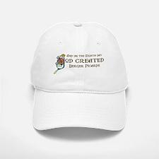 God Created Bergers Baseball Baseball Cap