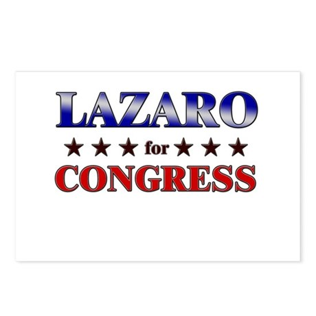 LAZARO for congress Postcards (Package of 8)