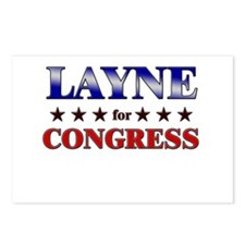 LAYNE for congress Postcards (Package of 8)