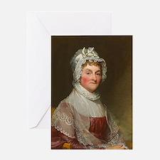 Funny Portraits women Greeting Card
