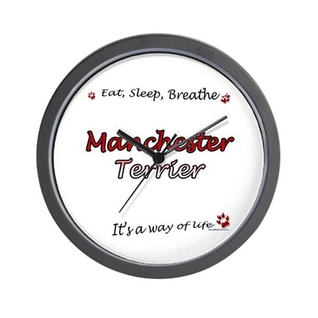 Manchester Breathe Wall Clock